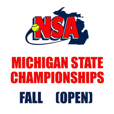 Michigan FALL State Championships (September 4th - 6th)