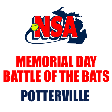 Memorial Day Battle of the Bats - Potterville (May 25th - 26th)