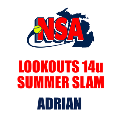 Lookouts 14u Summer Slam - Adrian (July 26th - 28th)