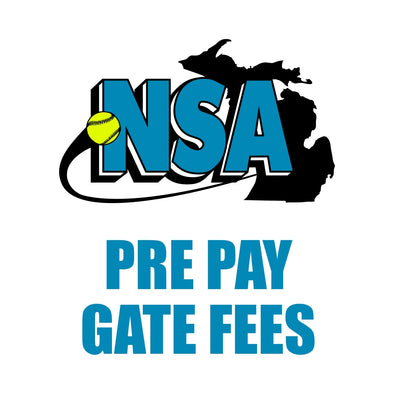 NSA Pre Paid TEAM Gate Fees