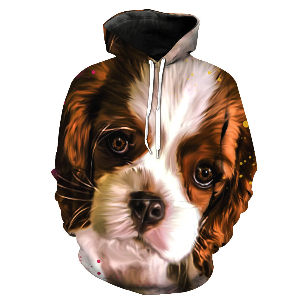c987eeebde0a ... Cavalier Double side 3D printed long sleeve hoodie with hat and pocket  ...