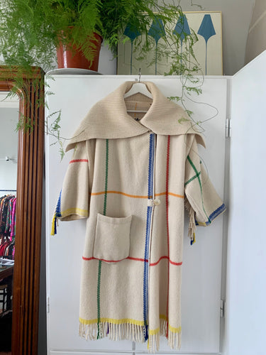 Castelbajac wool coat