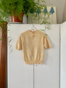 Hermès silk shirt knit
