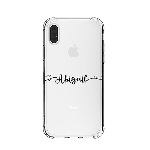 Personalized Handwritten Name Across iPhone Case