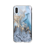 Golden Blue Marble iPhone Case