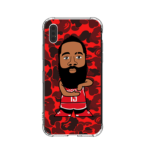 B X Beard iPhone Case
