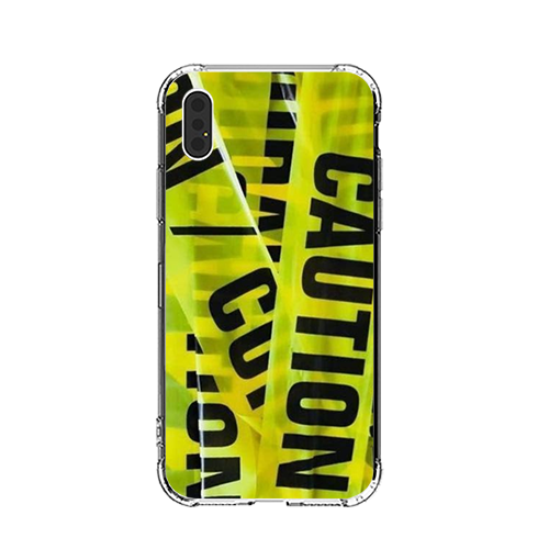 Caution Tape iPhone Case