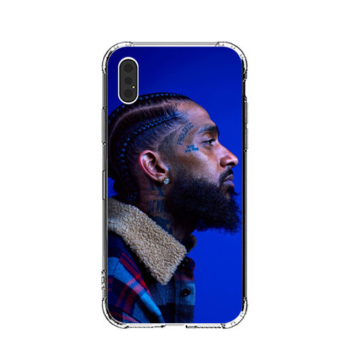 Hussle Blue iPhone Case