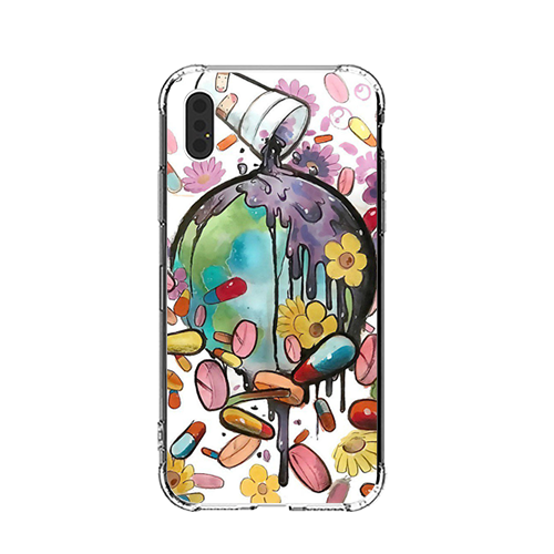 WrLd On DrUgS iPhone Case