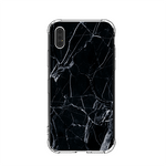Jet Black Marble iPhone Case