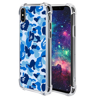Blue Hype iPhone Case