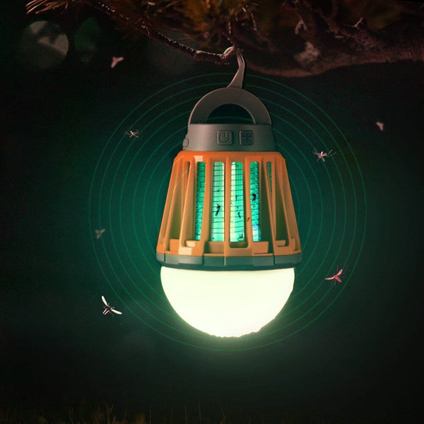 Ultimate Wireless Waterproof Outdoor Lantern & Built In Bug Zapper