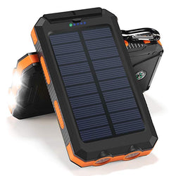Solar Charger with Compass
