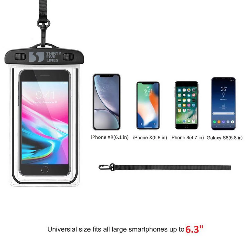 Universal Waterproof Phone Dry Pouch