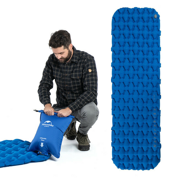 Ultralight Inflatable Waffle Mattress