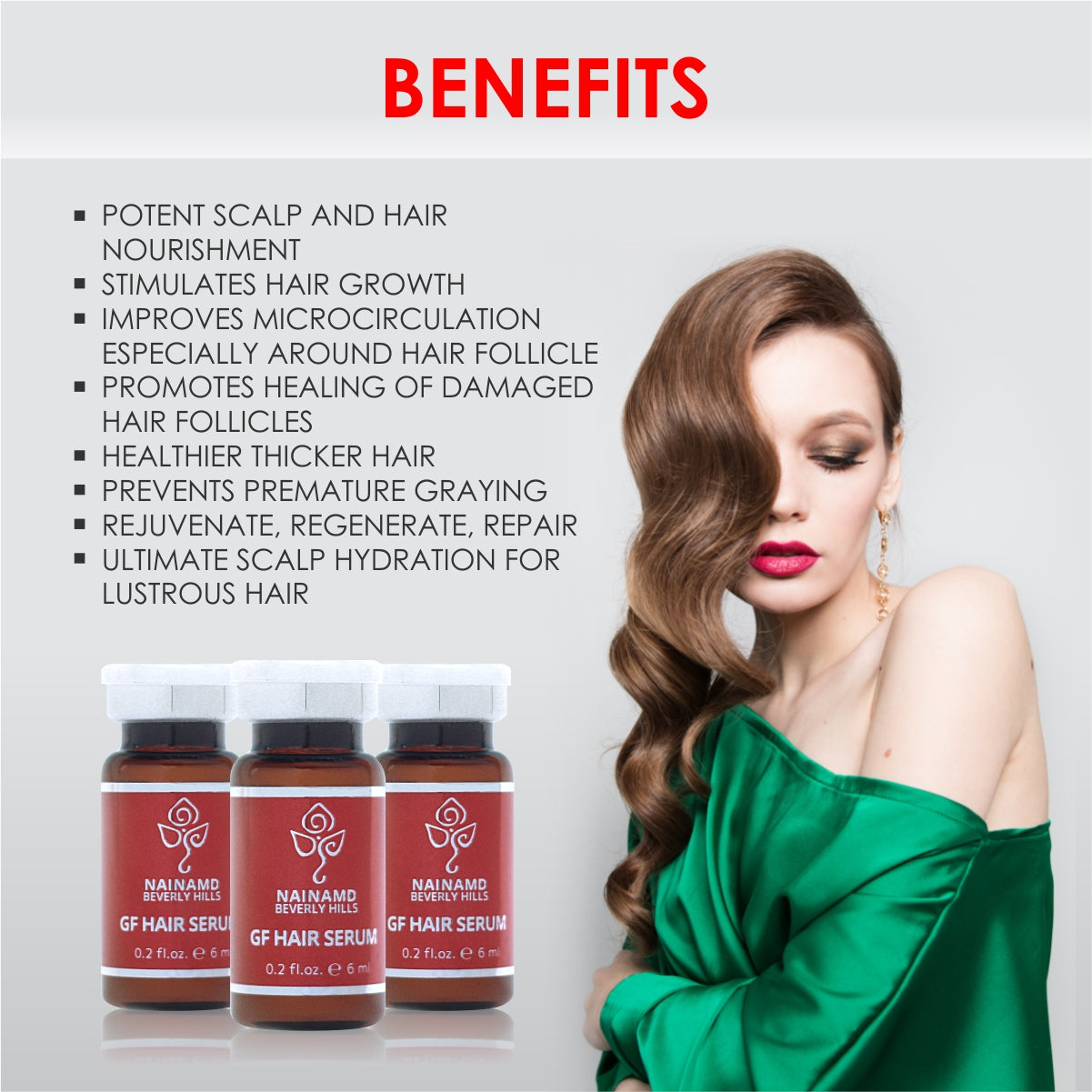 NainaMD Beverly Hills Hair Serum