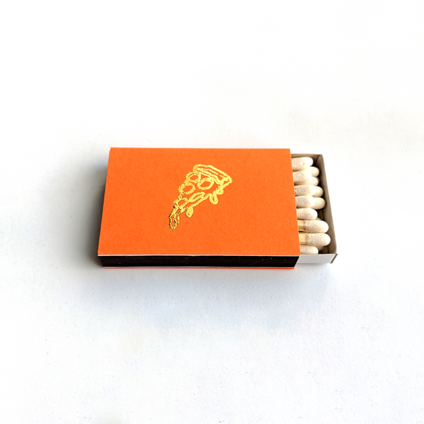 CLASSIC HORIZONTAL MATCHBOX - ORANGE