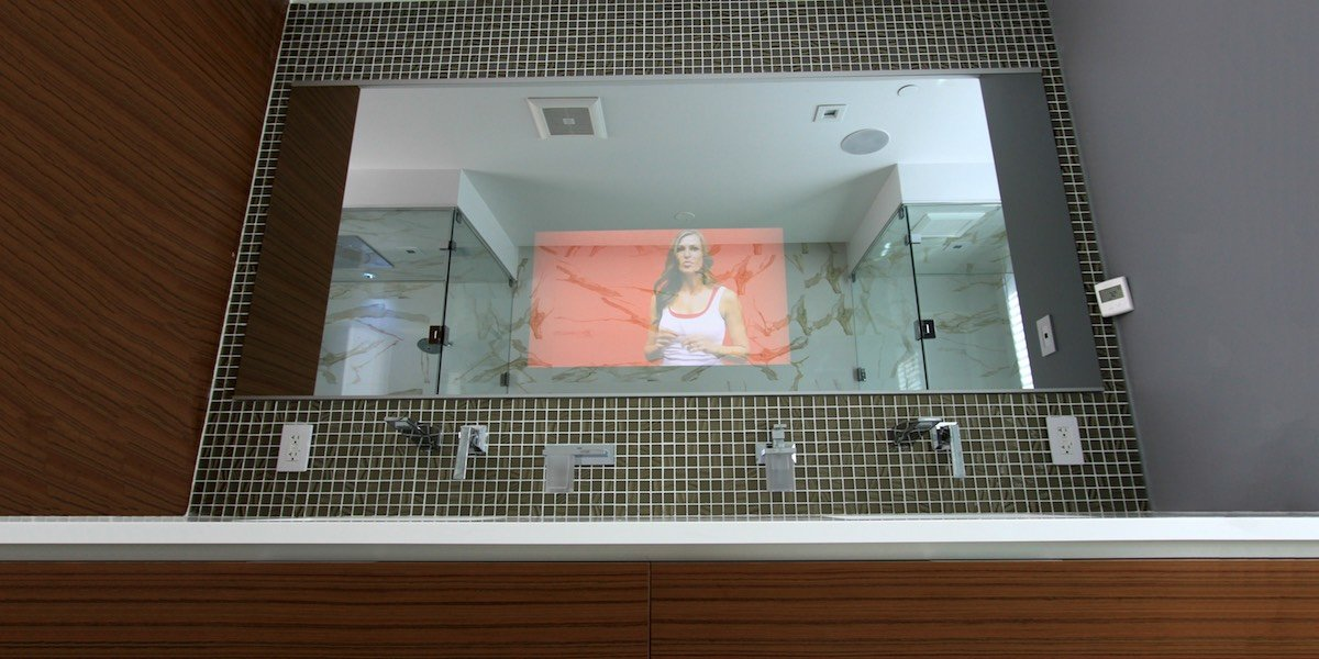 Tv Mirror Glass Cut To Size For Bathroom Vanity Or Your Diy Project Frame My Tv