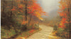 ART-5033 | Autumn Lane by Thomas Kinkade