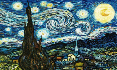8040 - Starry Night by Vincent Van Gogh