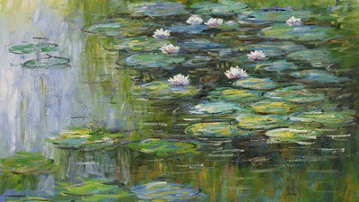 8044 - Water Lillies by Claude Monet