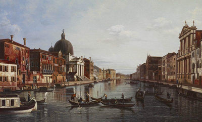 8185 - Grand Canal Looking South-West by Canaletto
