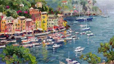 5008 - Portofino by Thomas Kinkade