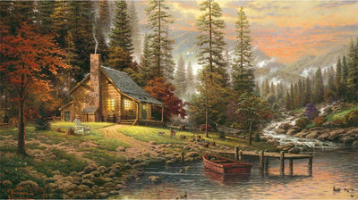 5009 - Peaceful Retreat by Thomas Kinkade