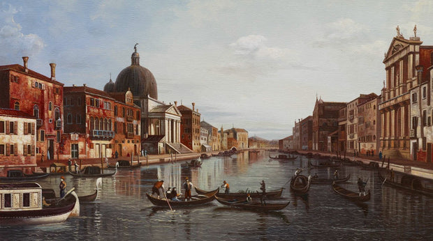 Grand Canal Looking South-West