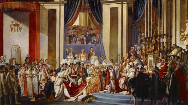 Consecration of the Emperor Napoleon and Coronation of Empress J