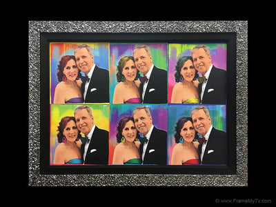 picture frame tv cover