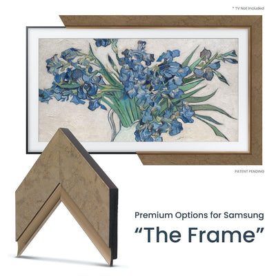 bronze frame for samsung the frame