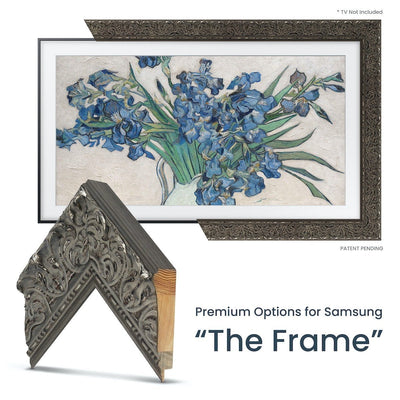 ornate traditional tv frame for samsung the frame