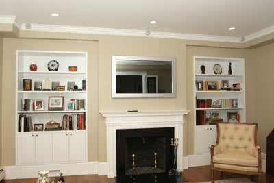 hide a tv over fireplace