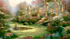 ART-5019 | Gardens Beyond Spring Gate by Thomas Kinkade