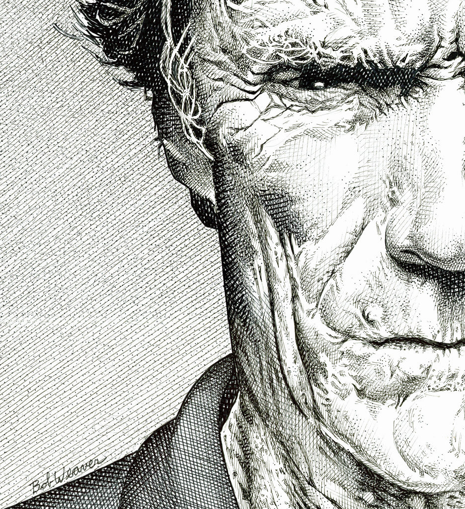 Clint Eastwood | Artist Bob Weaver Gallery Canvas Wrap