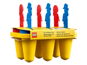 853912 | LEGO® Iconic Brick Ice Lollipop Tray