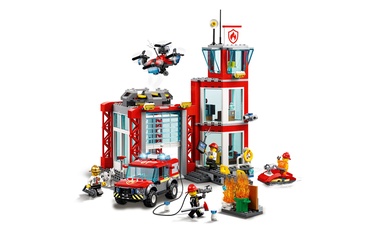 60215   LEGO® City Fire Station - LEGO Certified Stores