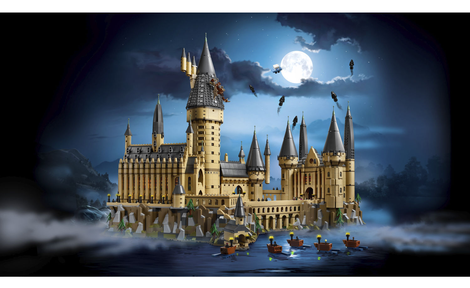 lego harry potter the hogwarts castle great yellow brick. Black Bedroom Furniture Sets. Home Design Ideas