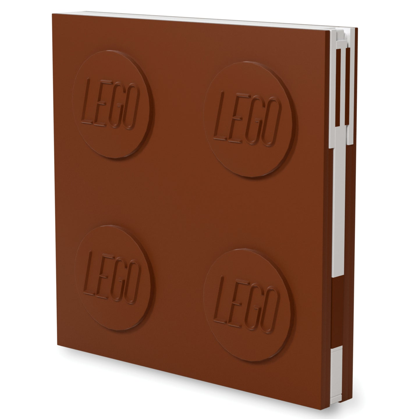 IQ52446 | LEGO® Locking Notebook with Gel Pen - Brown