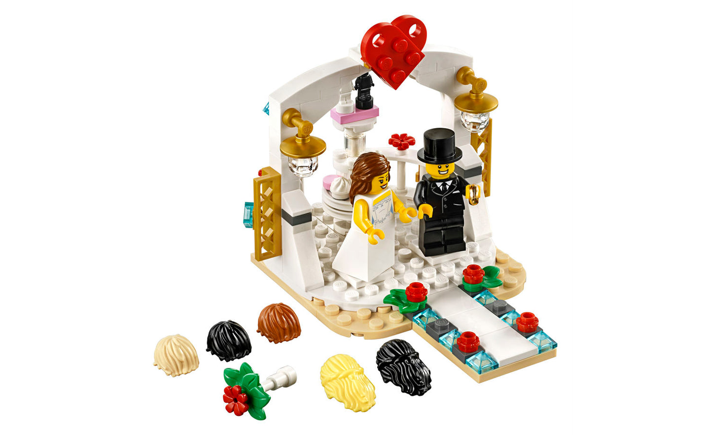 40197 | LEGO® Iconic Wedding Favor Set 2018