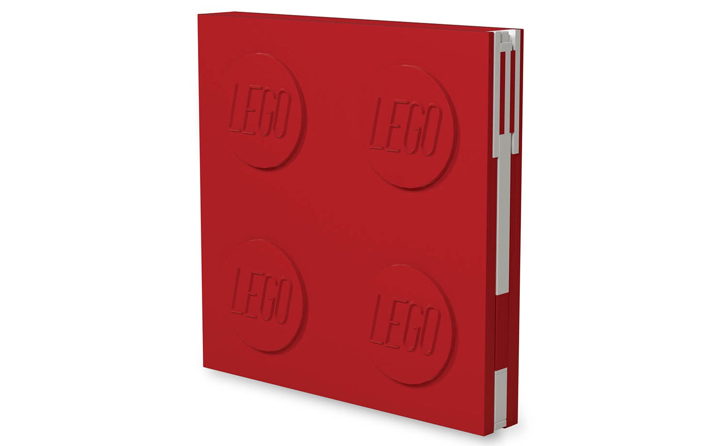 IQ52439 | LEGO® Locking Notebook with Gel Pen - Red