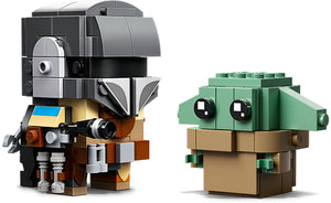 75317 | LEGO® BrickHeadz™ Star Wars™ The Mandalorian™ & The Child
