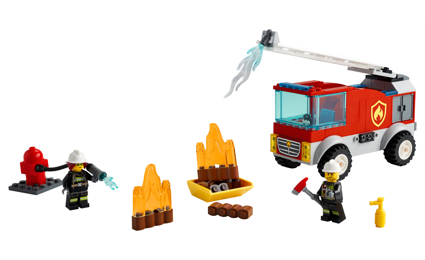 60280 | LEGO® City Fire Ladder Truck