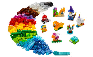 11013 | LEGO® Classic Creative Transparent Bricks