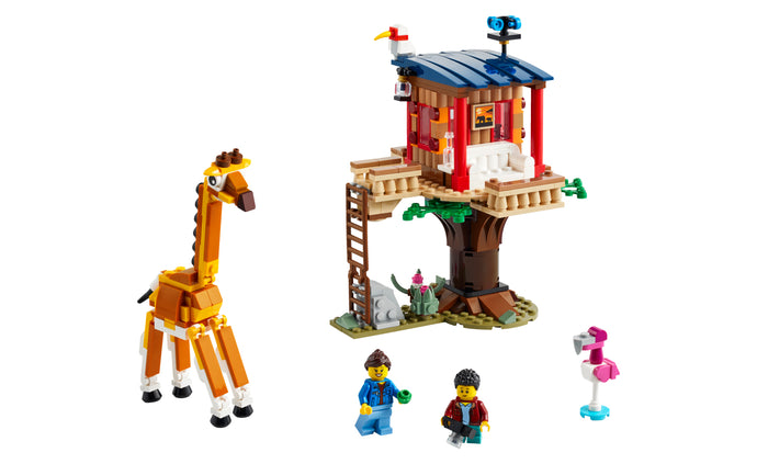 31116 | LEGO® Creator 3-in-1 Safari Wildlife Tree House