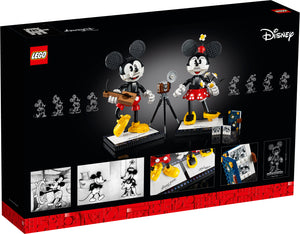 43179 | LEGO® Disney Mickey Mouse & Minnie Mouse Buildable Characters