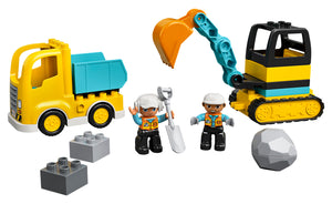 10931 | LEGO® DUPLO® Construction Truck & Tracked Excavator