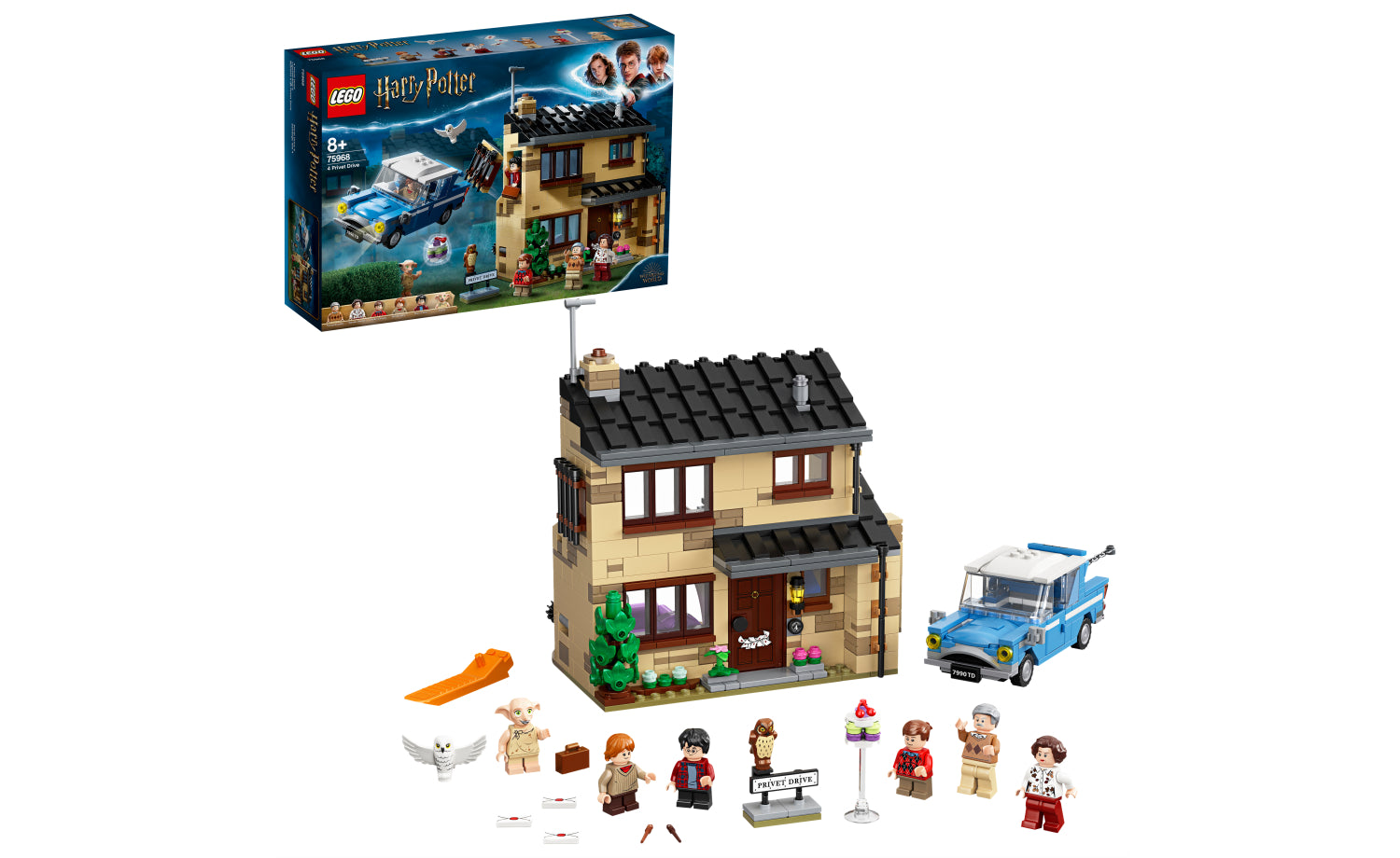 75968 | LEGO® Harry Potter™ 4 Privet Drive - Great Yellow ...