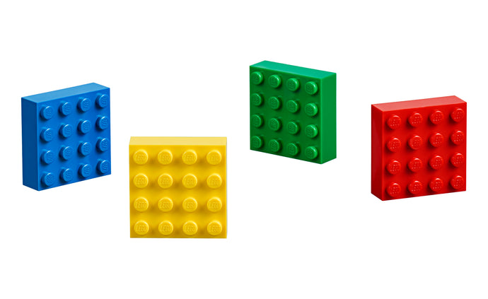 LEGO® 4x4 Brick Magnets Classic